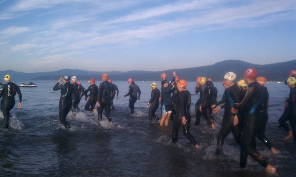 Tahoe Altitude Training Camp Swim Session